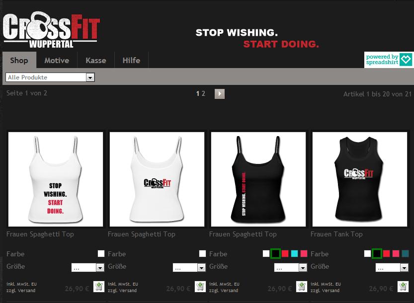 crossfit wuppertal shop